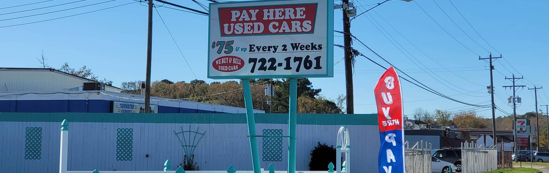 Pay Here Used Cars
